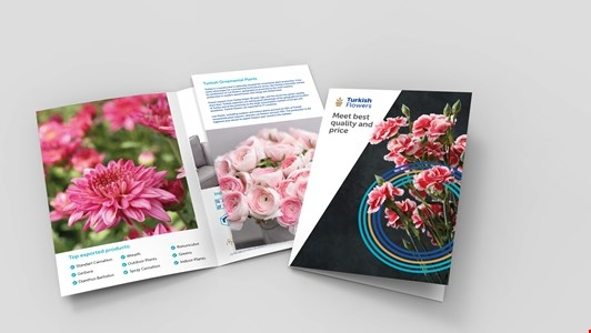 Turkish Flowers Brochure
