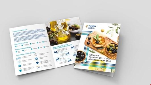 Turkish Olive & Olive Oil Brochure